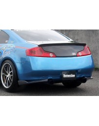 ChargeSpeed 03-07 Infiniti G35 Cpe BottomLine Rear Caps Carbon