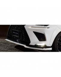 Artisan Spirits Black Label Front Under Spoiler (CFRP) - Lexus NX 300/300h F-Sport 2017-