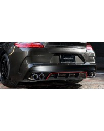 Artisan Spirits Sports Line ARS Rear Bumper Kit (CFRP) - Porsche Panamera Turbo 970CWBA 2009-2014