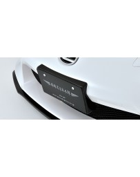Artisan Spirits Black Label Number Plate Base (CFRP) - Lexus LFA 2011