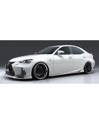 Artisan Spirits Black Label Front Grill Garnish (CFRP) - Lexus IS F Sport GSE/AVE/ASE 2016-