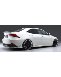 Artisan Spirits Black Label Rear Diffuser (FRP) - Lexus IS F Sport GSE/AVE/ASE 2016-