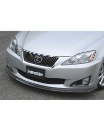 ChargeSpeed Lexus IS250/ IS350 Bottom Line Front Lip Carbon
