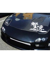 ChargeSpeed RX7 FD Carbon Flip HeadLight Covers