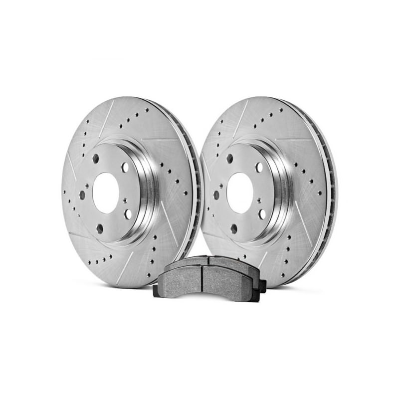Toyota Gt86 Hawk Sector 27 Rear Rotors And Hps 5 0 Pads Kit Torqen