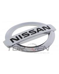 370z Z34 Nissan OEM Front Bumper Emblem