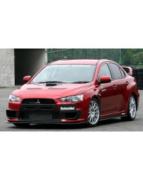 ChargeSpeed 08-10 Evo X Bottom Line Type1 Full LIp Kit FRP