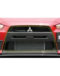 ChargeSpeed 08-16 Evo X Front Center Frame Carbon