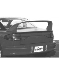VIS Racing 1991-1996 Saturn Sc Coupe Super Style Wing With Light