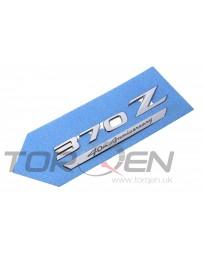 370z Nissan OEM Rear Boot Emblem - 40th Anniversary
