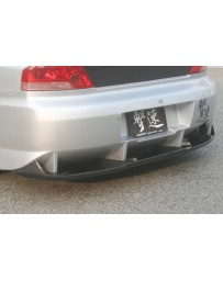 ChargeSpeed EVO VII, VIII & IX Carbon Diffuser For T-2 Rear B