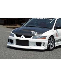 ChargeSpeed 02-07 Evo VII, VIII & IX Type-1 Front Bumper