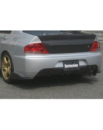 ChargeSpeed 06-07 Evo IX Bottom Line Rear Caps Carbon JDM