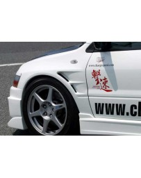 ChargeSpeed 02-07 Evo VII, VIII & IX 20MM D1 Front Fenders