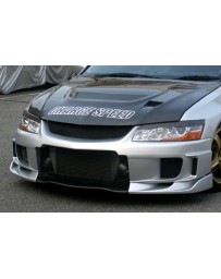 ChargeSpeed 02-07 Evo VII, VIII & IX T2 Front Bumper W/ Carbon