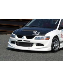 ChargeSpeed 2003-2005 Evo VIII Front Spoiler
