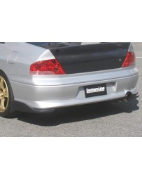 ChargeSpeed Evo VII & VIII Bottom Line Carbon Rear Caps JDM