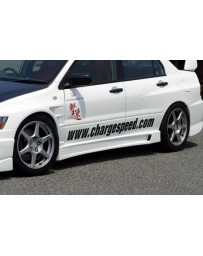 ChargeSpeed 02-07 Evo VII, VIII & IX Type-1 Side Skirts