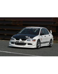 ChargeSpeed Evo VIII Full Lip Kit 4PCS.-FIT JDM BUMPERS ONLY