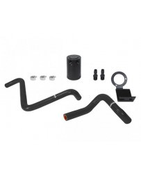 Toyota GT86 Mishimoto Black PVC Side Baffled Oil Catch Can