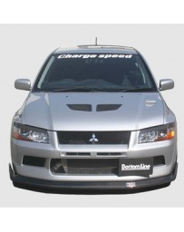 ChargeSpeed 2002 Evo VII Bottom Line Front Lip FRP JDM Fitment