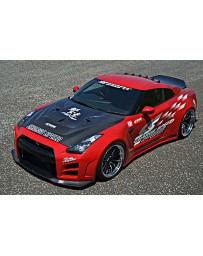 ChargeSpeed 2007-2011 Nissan GTR Wide Body Kit