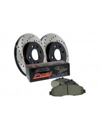Toyota GT86 StopTech Drilled Sport Brakes Rotors and Ceramic Rear Brake Pads
