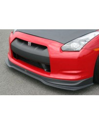 ChargeSpeed 2007-2011 Nissan GTR Bottom Line Carbon Front Lip