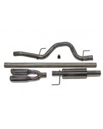 ROUSH Performance F-150 Exhaust - 6.2L /5.0L/3.5L Rear Exit (2011-2014)