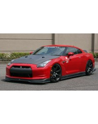 ChargeSpeed 2007-2011 Nissan GTR Bottom Line Carbon Full Kit