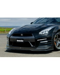 ChargeSpeed 2012-2016 Nissan GTR BottomLine Front Lip Carbon