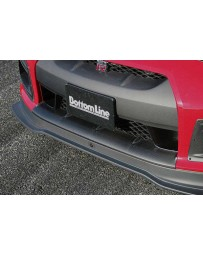 ChargeSpeed 2007-2011 Nissan GTR CF Front Bumper Under Cowl