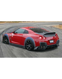 ChargeSpeed 2007-2020 Nissan GTR FRP Roof Fin