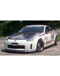 ChargeSpeed Nissan 02-05 350Z Bottom Line Lip Kit Carbon