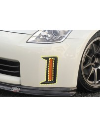 ChargeSpeed 06-08 350Z Reflector Cowl Carbon OEM Front Bumper