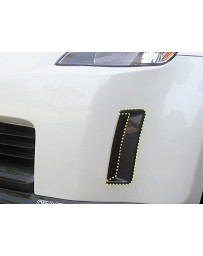ChargeSpeed 03-05 350Z Reflector Cowl Carbon OEM Front Bumper