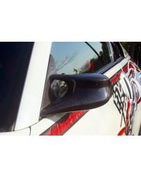 ChargeSpeed Nissan 03-08 350Z FRP Aero Mirror LHD Fiberglass