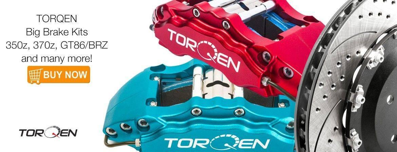 TORQEN Big Brake Kits - Nissan 350z, 370z, Toyota GT86, Subaru BRZ